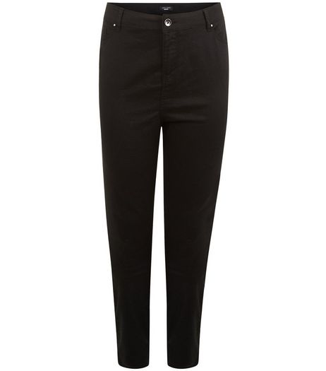 Plus Size 30in Black Skinny Jeans | New Look