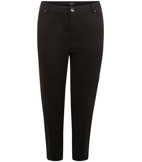 Curves Black Skinny Jeans | New Look