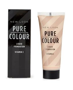 Pure Colour Porcelain 01 Liquid Foundation | New Look