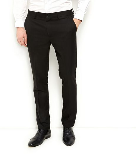 Black Slim Fit Suit Trousers | New Look