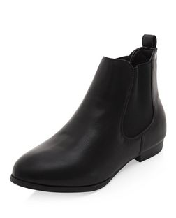 Black Chelsea Boots | New Look