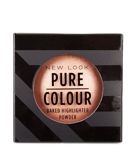 Pure Colour Gold Baked Highlighter Powder  | New Look