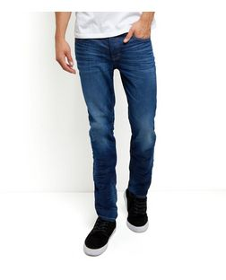 Navy Slim Fit Jeans  | New Look