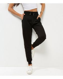 Black Slim Leg Joggers  | New Look