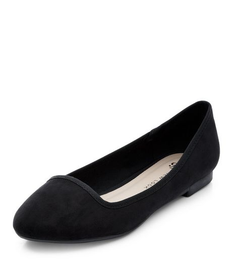 Teens Black Slipper Shoes | New Look