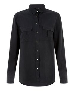 Navy Utility Shirt | New Look