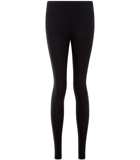 Black Ankle Length Leggings  | New Look