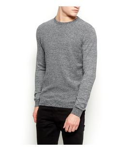 Black Crew Neck Jumper  | New Look