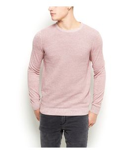 Pink Crew Neck Jumper | New Look