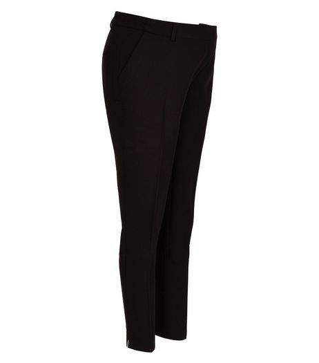 Maternity Black Under Bump Trousers  | New Look