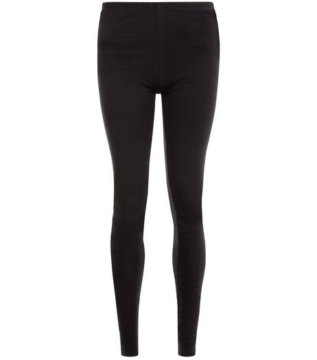 Tall Black Extra Long Leggings  | New Look