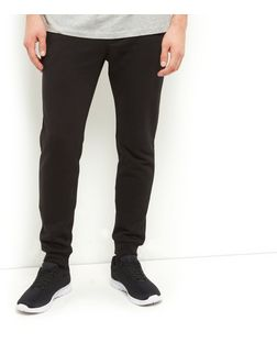 Black Basic Joggers  | New Look
