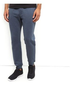 Navy Basic Joggers  | New Look