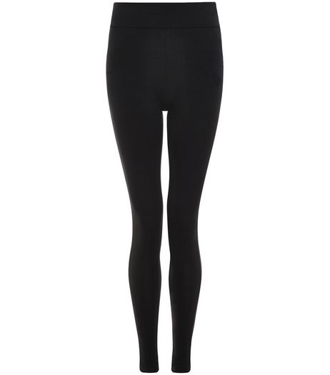 Tall Black High Waisted Leggings  | New Look