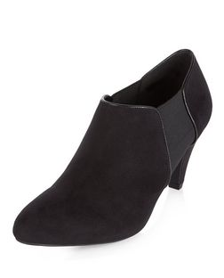 Teens Black Pointed Shoe Boots | New Look