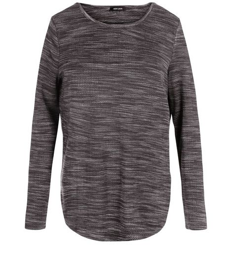 Brown Fine Knit Long Sleeve Top | New Look