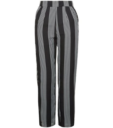 Heartbreak Black Stripe Co-ord Trousers | New Look