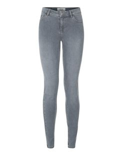 Grey Supersoft Super Skinny Jeans  | New Look