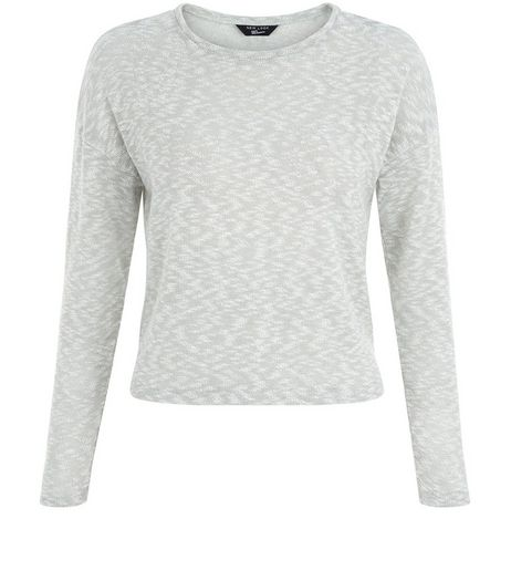 Teens Mint Green 3/4 Sleeve Jumper | New Look