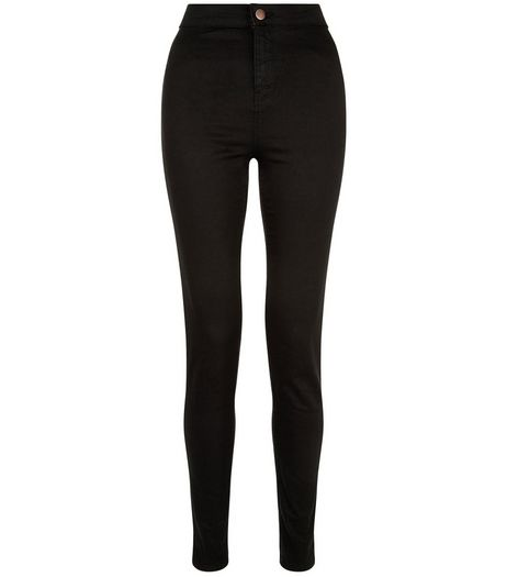 Black High Waist Super Skinny Jeans | New Look