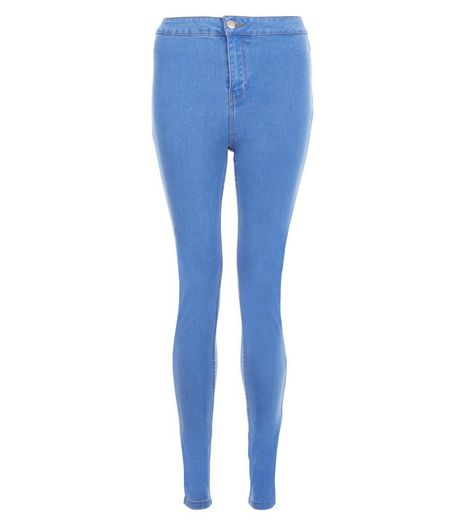 Light Blue High Waist Super Skinny Jeans | New Look