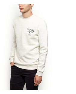 Cream East Bay Sweater | New Look