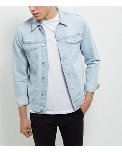 Pale Blue Denim Jacket  | New Look