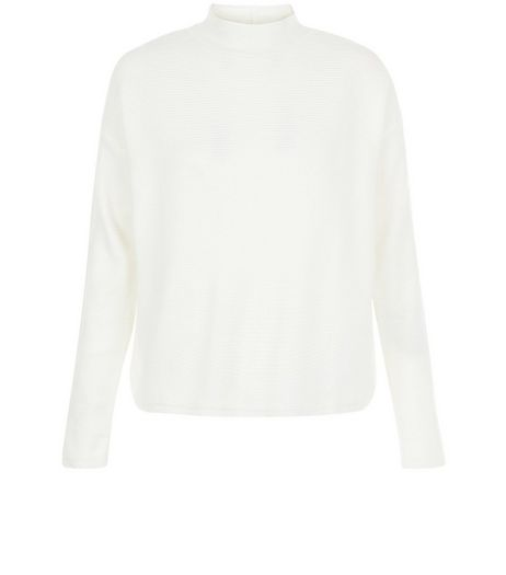 Cream Turtle Neck Long Sleeve Jumper | New Look