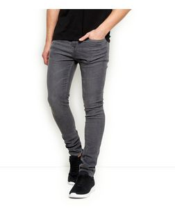 Grey Super Skinny Jeans  | New Look