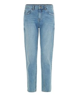 Pale Blue Straight Leg Jeans  | New Look