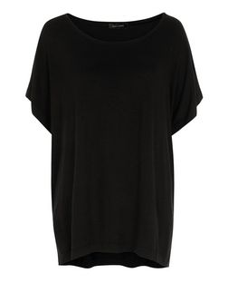 Black Oversized T-Shirt | New Look