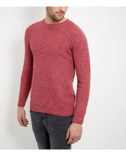 Pink Box Stitch Jumper  | New Look