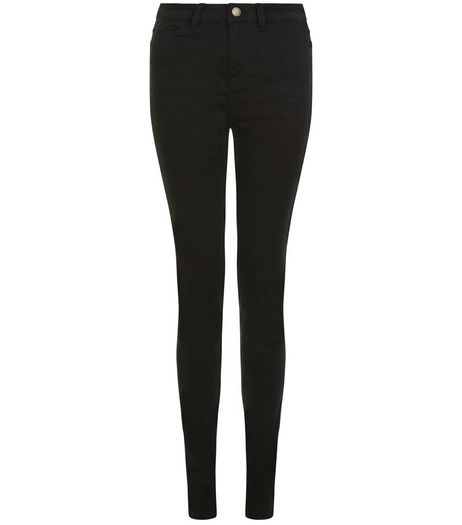 Tall 36in Black Supersoft Super Skinny Jeans | New Look