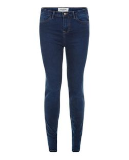 Tall 36in Blue Supersoft Super Skinny Jeans | New Look