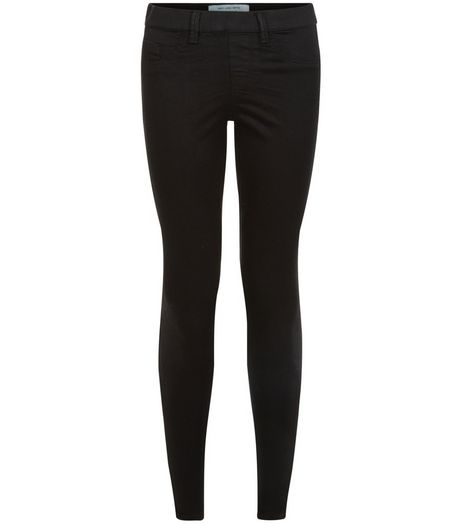 Petite 28in Black Jeggings | New Look