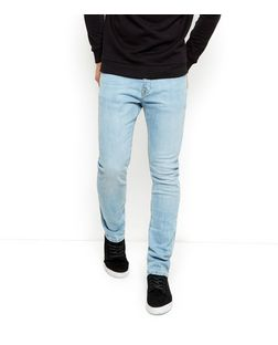 Pale Blue Slim Fit Jeans  | New Look