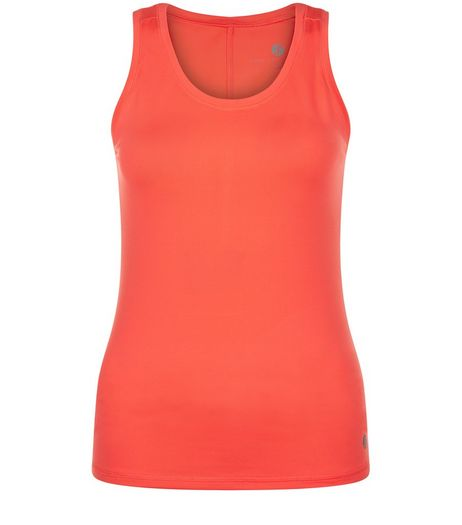 Teens Coral Sports Vest  | New Look