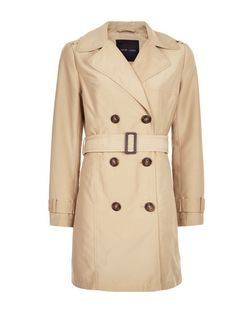Camel Belted Trench Coat  | New Look