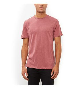 Red Crew Neck T-Shirt | New Look