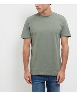 Green Crew Neck T-Shirt | New Look