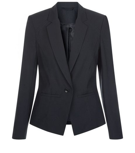 Black Suit Jacket  | New Look