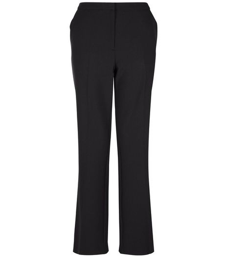 Black Bootcut Suit Trousers  | New Look