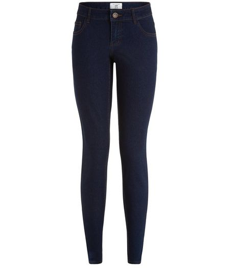 Petite 28in Navy Skinny Jeans | New Look