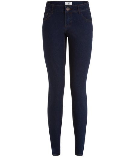 Tall Dark Blue Skinny Ankle Grazer Jeans | New Look
