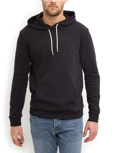 Black Basic Hoodie | New Look
