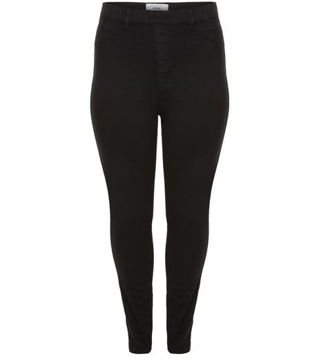 Curves Black Jeggings  | New Look