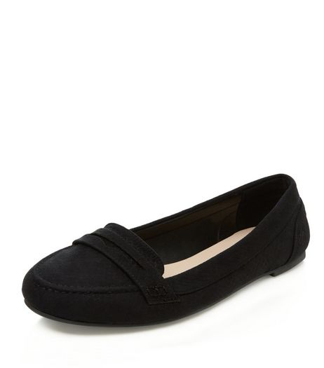 Black Loafers  | New Look