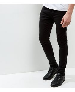 Super Skinny Black Jeans Mens