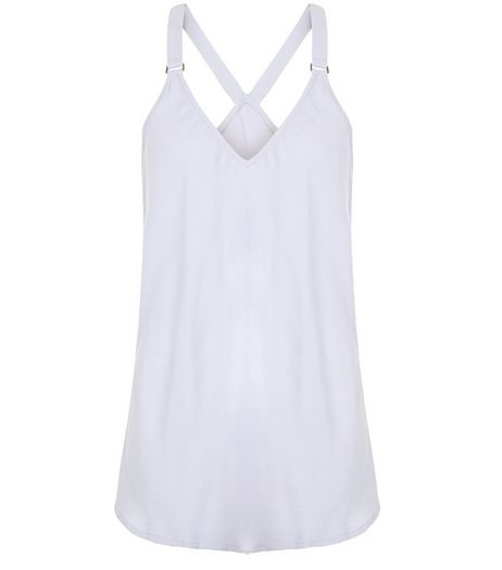 Light Purple Buckle Strap Cami | New Look