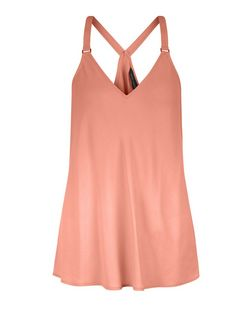Mid Pink Buckle Strap Cami  | New Look